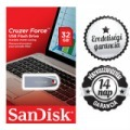 32GB SanDisc Cruzer Force 2.0 USB/PENDRIVE
