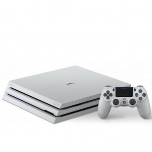 Playstation 4 Pro 1TB, Glacier White konzol+PS4 StarWarsBattlefront II - PS4 (PlayStation4) konzol