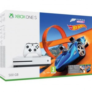 XBOX ONE S 500GB + Forza Horizon 3 + Hot Wheels DLC - Játék