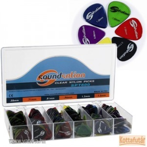 Soundsation gitárpengető (Clear Nylon Picks)