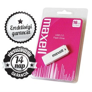 16GB MAXELL USB 2.0 White Pendrive