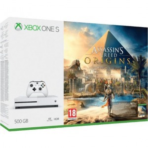 XBOX ONE S 500GB + Assassin's Creed Origins - Játék